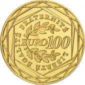 France, 100 Euro, 2008, FDC, Or, Gadoury:EU289, KM:1536