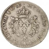France, Louis XVI, �cu aux branches dolivier, 1783, Paris, VF(20-25), KM 564.1
