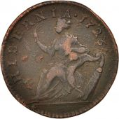 US COLONIAL AMERICA, Halfpenny, 1723, TB, Cuivre, KM:23.1