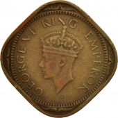 INDIA-BRITISH, George VI, 2 Annas, 1942, Bombay, EF(40-45), Nickel-brass, KM541a