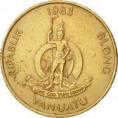 Vanuatu, 2 Vatu, 1983, British Royal Mint, TTB+, Nickel-brass, KM:4