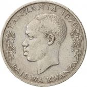 Tanzania, 50 Senti, 1970, TTB, Copper-nickel, KM:3