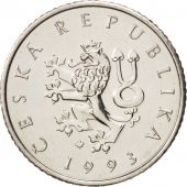République Tchèque, Koruna, 1993, SUP+, Nickel plated steel, KM:7