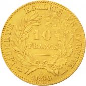France, C�r�s, 10 Francs, 1896, Paris, AU(50-53), Gold, KM:830, Gadoury:1016