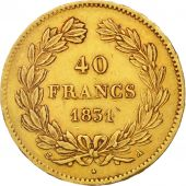 France, Louis-Philippe, 40 Francs, 1831, Paris, TTB, Or, KM:747.1, Gadoury:1106