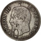 France, Napoleon III, 20 Centimes, 1859, Paris, EF(40-45), Silver, KM 778.1
