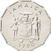 Jamaica, Elizabeth II, Cent, 1990, British Royal Mint, SUP+, Aluminium, KM:64