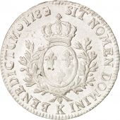 France, Louis XVI, �cu aux branches dolivier,1783/82,Bordeaux,AU(50-53),KM564.8
