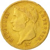 France, Napol�on I, 20 Francs, 1813,Utrecht,EF(40-45),Gold,KM:695.11,Gadoury1025