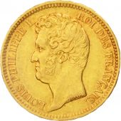 France, Louis-Philippe,20 Francs,1831,Lille,EF(40-45),Gold,KM:746.4,Gadoury1030a