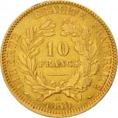 France, C�r�s, 10 Francs, 1850, Paris, EF(40-45), Gold, KM:770, Gadoury:1012