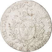 France, Louis XVI, �cu aux branches dolivier, 1775, Bordeaux, VF(30-35),KM564.8