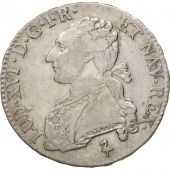 France, Louis XVI, 1/2 Écu, 44 Sols, 1784, Paris, VF(30-35), Silver, KM 562.1