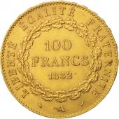 France, Génie, 100 Francs, 1882, Paris, TTB+, Or, KM:832, Gadoury:1137