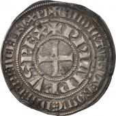 France, Philip IV, Gros Tournois, EF(40-45), Silver, Duplessy:213