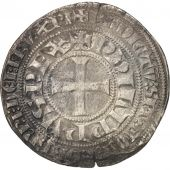 France, Philippe IV, Gros Tournois à lO rond, TB, Argent, Duplessy:213
