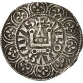 France, Philippe IV, Maille Tierce à lO rond, EF(40-45), Silver, Duplessy:219