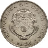 Costa Rica, 25 Centimos, 1948, SUP, Copper-nickel, KM:175