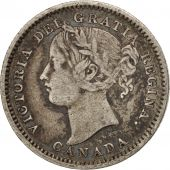 Canada, Victoria, 10 Cents, 1899, TB+, Argent, KM:3