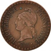 France, Dupré, Centime, 1849, Paris, EF(40-45), Bronze, KM:754, Gadoury:84