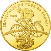 France, Monnaie de Paris, 50 Euro, Centenaire Du Tour De France, 2003