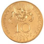 Vth Republic, 10 Francs Conquest of Space Essai