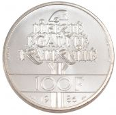 Vth Republic, 100 Francs Liberty Piefort Silver