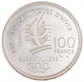 Vth Republic, 100 Francs JO of Albertville 1992