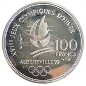 V Th Republic, 100 Francs JO d'Albertville 1992