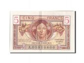 France, 5 Francs, 1947 French Treasury, 1947, KM:M6a, 1947, UNC(60-62), Fayet...