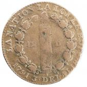 Constitution, 12 French Denarius