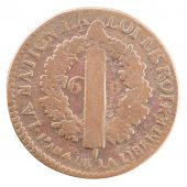 Constitution, 6 French Denarius