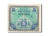 France, 5 Francs, 1944 Flag/France, 1944, 1944, KM:115a, TTB+, Fayette:VF17.3