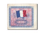 France, 2 Francs, 1944 Flag/France, 1944, 1944, KM:114b, TB+, Fayette:VF16.2