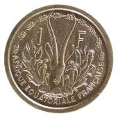 French Equatorial Africa, 1 Franc