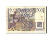 France, 500 Francs, 500 F 1945-1953 Chateaubriand, 1946, KM:129a, 1946-02...