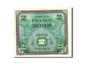 France, 2 Francs, 1944 Flag/France, 1944, KM:114a, 1944, UNC(63), Fayette:VF16.1