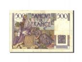France, 500 Francs, 500 F 1945-1953 Chateaubriand, 1946, 1946-02-07