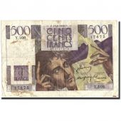 France, 500 Francs, 500 F 1945-1953 Chateaubriand, 1948, 1948-05-13