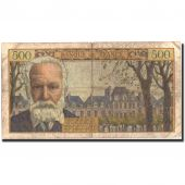 France, 500 Francs, 500 F 1954-1958 Victor Hugo, 1954, KM:133a, 1954-01-07