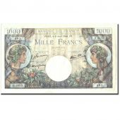 France, 1000 Francs, 1 000 F 1940-1944 Commerce et Industrie, 1944