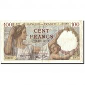 France, 100 Francs, 100 F 1939-1942 Sully, 1941, 1941-10-30, KM:94, SUP+