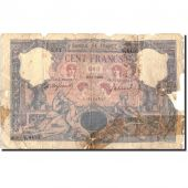 France, 100 Francs, 100 F 1888-1909 Bleu et Rose, 1906, 1906-01-23, KM:65d