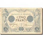 France, 5 Francs, 5 F 1871-1874 Noir, 1873, 1873-08-07, KM:60, TB