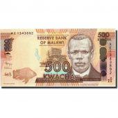Billet, Malawi, 500 Kwacha, 2012, 2012-01-01, KM:61, NEUF