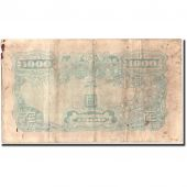 South Korea, 1000 Won, Undated (1950), KM:3, VF(20-25)