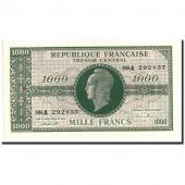 France, 1000 Francs, 1943-1945 Marianne, 1945, Undated (1945), KM:107, SUP