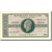 France, 1000 Francs, 1943-1945 Marianne, undated (1945), Undated (1945), KM:107