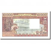 Banknote, West African States, 10,000 Francs, Undated (1977-92), Undated