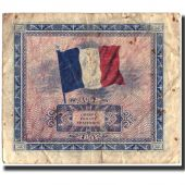 Billet, France, 5 Francs, 1944 Flag/France, 1944, 1944, TB, Fayette:VF17.1